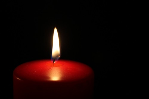 candle-wax-621178_1920 5 Ways To Give Love This Christmas Season: Photo of red candle burning in the darkness.