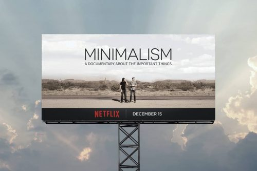 Review of Minimalism: Photo of The Minimalists Minimalism film.