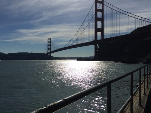 Buying less leads to more cherished memories: Photo of Golden Gate Bridge by Dan Erickson