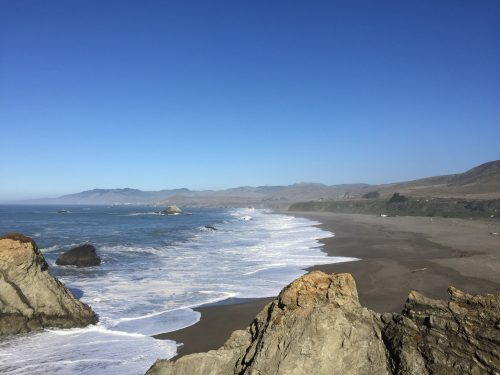 Two simple rules to exercise now without a program: Photo of CA coast by Dan Erickson.